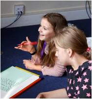 Students at Edinburgh School of English